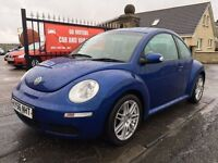 2006 (56) VW BEETLE DIESEL, 1 YEAR MOT, SERVICE HISTORY, WARRANTY, NOT ASTRA FOCUS MEGANE POLO
