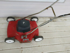 Electric Lawnmower (stopped working)