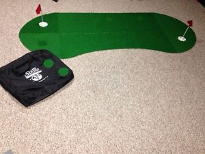 Club Champ click putting mat