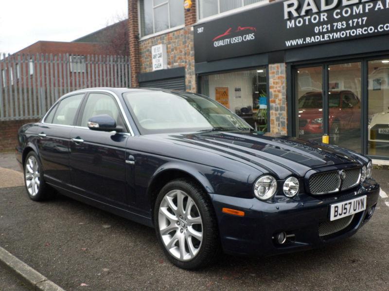 2007 Jaguar XJ Series 3.0 Auto XJ6 Sovereign 4DR 57 REG Petrol Blue