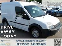 2008 08 FORD TRANSIT CONNECT T220 LWB 2 CAGE DOG VAN EX MOD