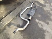 Ford Fiesta Zetec s mk 5 sportex exhaust,£70,no offers