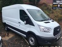 2015 15 NEW SHAPE FORD TRANSIT 2.2TDCi ( 125PS ) RWD 350 L3H2 EX-DEMONSTRATOR