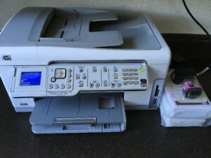 HP Printer, photo printer, fax, copier, scanner