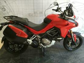 DUCATI MULTISTRADA 1260 S AWESOME BIKE WITH ONLY 3065 MILES ON THE CLOCK