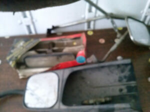 trailer    mirrors      and rear viw mirrors