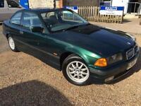 1998 'R' BMW 316 Coupe. E36. Retro. Sport. Tidy Car. Px Swap