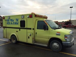 For sale a 2010 ford Econoline E-350 Diesel engine Ambulance