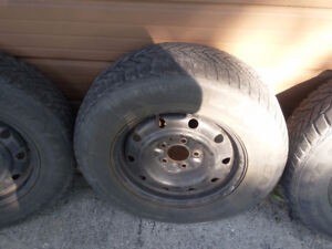 2006 DODGE CARAVAN RIMS TIRES