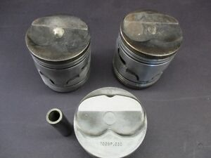 (5) 350 Chevy forged pistons Windsor Region Ontario image 1