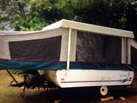 Coleman Fleetwood camper trailer tent 1994 6 berth