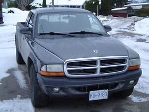 2004 Dodge Dakota Grey Pickup Truck