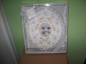 FRAME - BABY'S FIRST YEAR - NEW!!!!!    REDUCED!!!!
