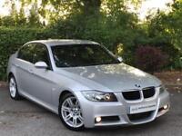 2007 Silver BMW 320D M Sport Automatic E90 Saloon 4 Door Auto Diesel