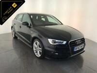 2013 63 AUDI A3 S LINE TDI DIESEL 1 OWNER SERVICE HISTORY FINANCE PX WELCOME