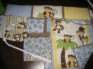 Nursery Bedding - Monkey Theme