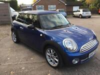 2007 57 plate Mini 1.6 Cooper PANORAMIC ROOF half leather warranty given