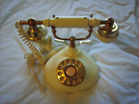 VICTORIAN STYLE ROTARY PHONE