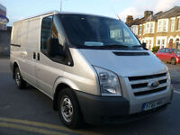 Ford Transit 115 BHP 6 SPEED 2010 / 60 AIR CON TWIN SIDE LOADER SILVER SWB