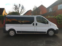 Vauxhall Vivaro 2900 Combi S-A Lwb 9 Seater Minibus Trafic Low Mileage HPi Clear
