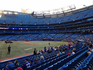 Toronto Blue Jays Field level 130A Row 21 at Face Value