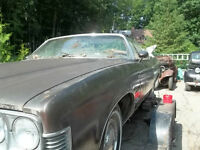 1973 pontiac grand ville parts car