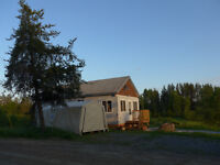 My Mistake could be YOUR Year-Round Bush Cabin Paradise!