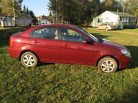 2009 Hyundai Accent with 46,000kms