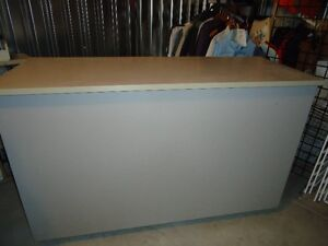 Commercial Display Counter with adjustable shelves