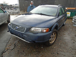 We are now Parting out this Volvo Xc70 2001