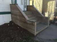 Build Wooden Steps