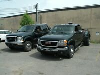 Pick up Towing , wheel lift,remorqueuse,Gmc sierra ,f350