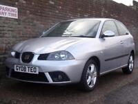 Seat Ibiza 1.2 12v Reference Sport 2008(08) 3 Door Hatchback
