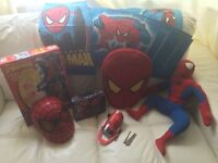 Spider-Man bundle duvet mask etc
