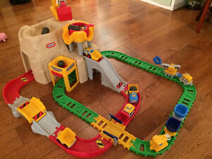 Train et grue Littles Tikes Big Adventure