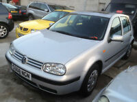 Volkswagen Golf 1.6 SE petrol silver 5 door, 1 previous owner, lots of history,
