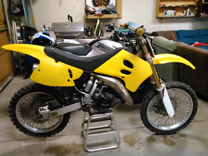 1995 rm 125 trade for?