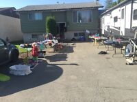 Yard sale 795 settlement Rd may 7