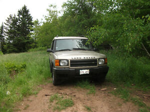 2000 Land Rover Discovery 2 SUV, Crossover