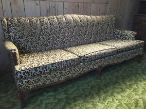 Vintage Retro Couch and Chair