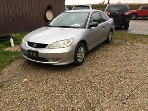 2005 civic dx coupe 5 speed