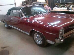 1964 Pontiac Bonneville Convertible 389 Engine Cragar Wheels