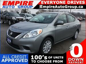 2014 NISSAN VERSA 1.6 SV * BLUETOOTH * VOICE COMMAND/RECOGNITION