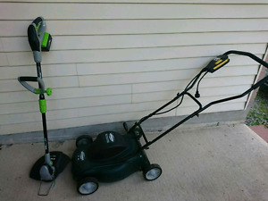 Mower and  weeder