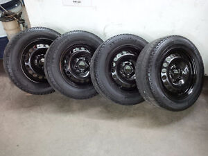 5x112 VW wheels with 195/65r15 Michelin X-Ice tires