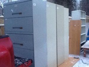 File cabinet 5 door 50$ Just brought out of storage