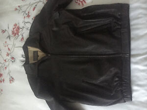 Izod leather jacket BRAND NEW Cambridge Kitchener Area image 2