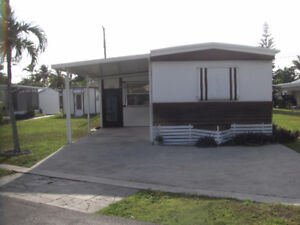 MOBIL HOME DOUBLE TO RENT (SHEAR)