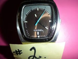 NEW MENS WATCHES X 2: DIESEL & NO NAME