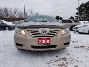 2008 Toyota Camry LE Sedan/Accident free/Low Km 125665/Alloy Rim